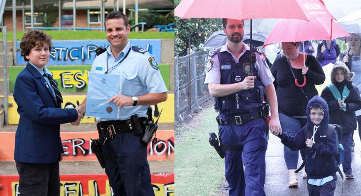 Bulahdelah Police Award recognises students positive behaviour