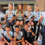 Officers visit Bulahdelah Central School to share safety tips