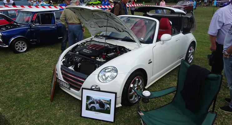 Section winners: Asian: Peter Hillaty's Daihatsu (white car).
