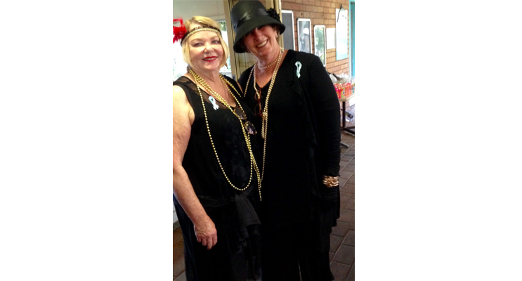 LIONESS CLUB MEMBERS: Helen and Jenni.