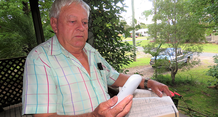 Bulahdelah resident Eric Saville was without a home phone connection for a month.