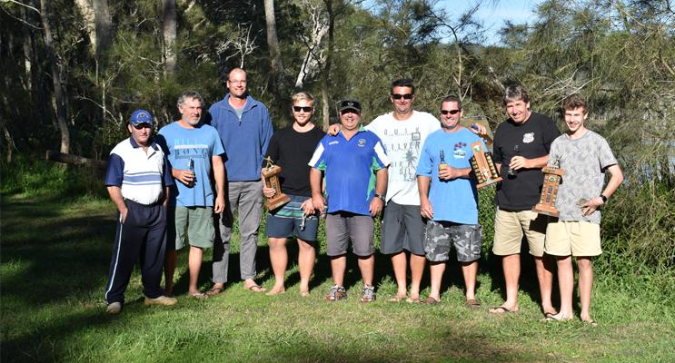 Paul Kiem, Toby Carroll, Glen Morante, Zac Allen, Warren Syron, Wayne Thomson, Geoff Matheson, Nathan Fletcher and Zac Fletcher.