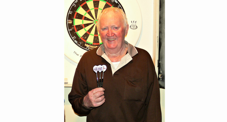 Graham Lawler, half of the mixed doubles winning team.