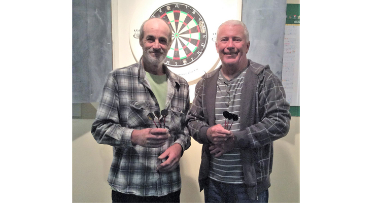 Winners: Robert Bartlett and Geoff Smith.