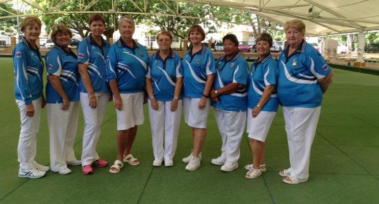 The Karuah Ladies team that came runners up in the Ladies Pennant.