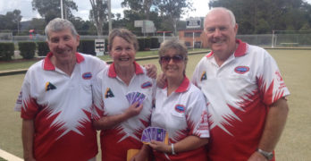 Fierce but fun competition for Karuah Bowlers