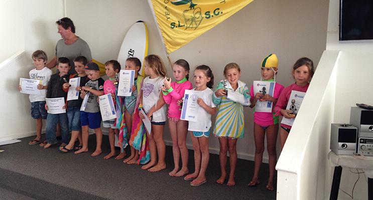 NIPPERS PRESENTATION: Under 7s Tea Gardens Hawks Nest Surf Life Saving Club.