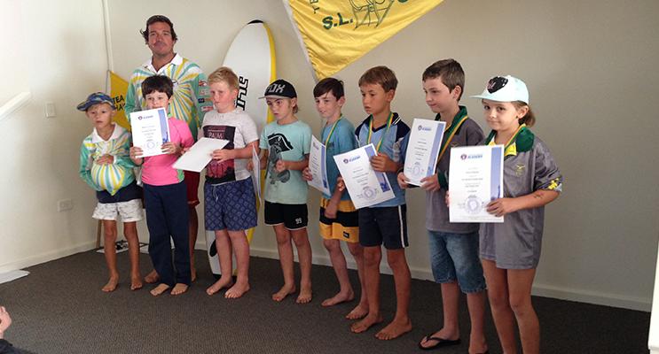 Under 8s Tea Gardens Hawks Nest Surf Life Saving Club.