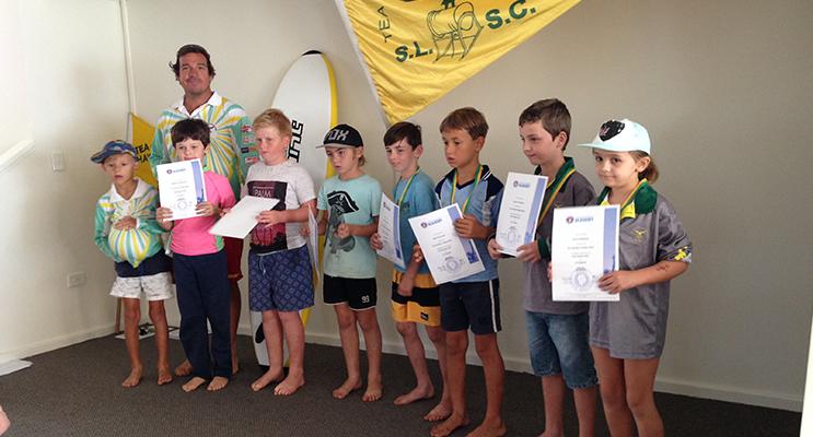 NIPPERS PRESENTATION: Under 8s Tea Gardens Hawks Nest Surf Life Saving Club.