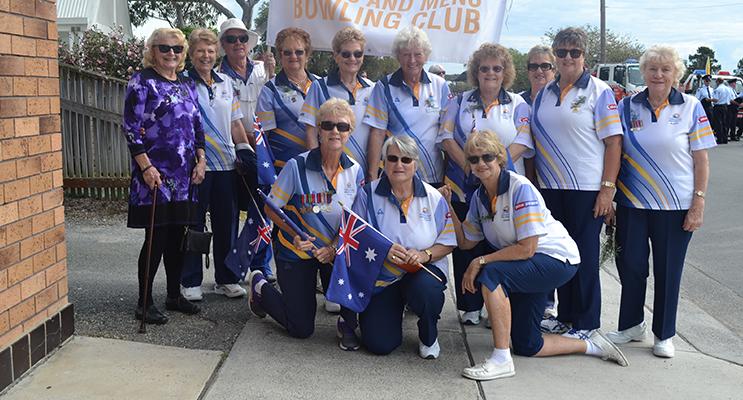 ANZAC Day Marchers.