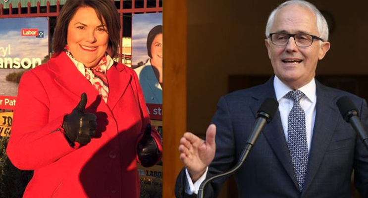 Federal Member for Paterson Meryl Swanson met with Senator James McGrath