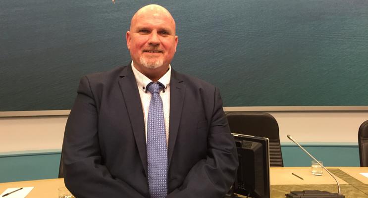 Deputy Mayor Cr Chris Doohan.