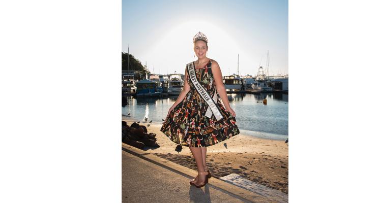 Bluewater Country Music Festival Ambassador, Mrs Galaxy Australia Emilie-rae Guihot.