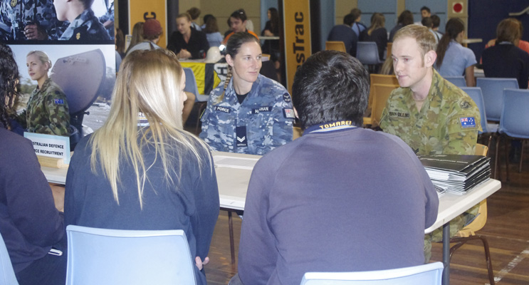 CPL Hallahan and BDR Ryan-Collins outline degree opportunities within the defence industry.