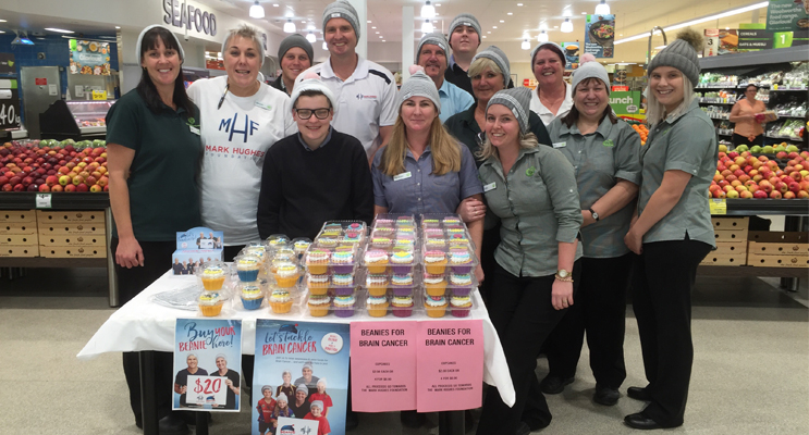 The team at Medowie Woolworths all got into the spirit!