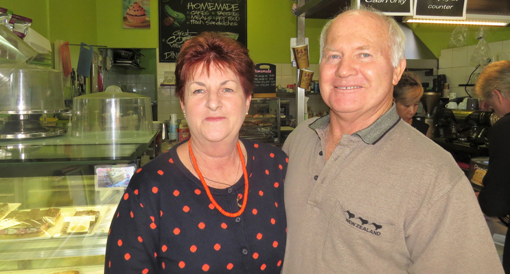 Kevin and Kay Aitken are kept busy keeping up with the demand for their homemade goods.