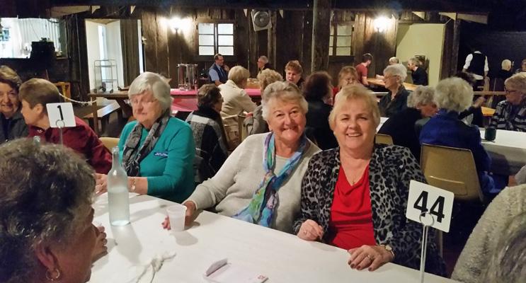 The Tomaree Ladies Probus group enjoying Diva Fever.