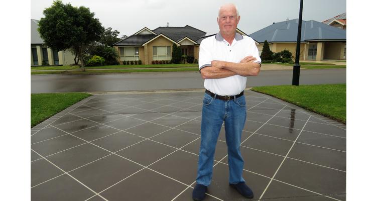 Bruce Chapman is warning residents about a door-to-door driveway repair scam.