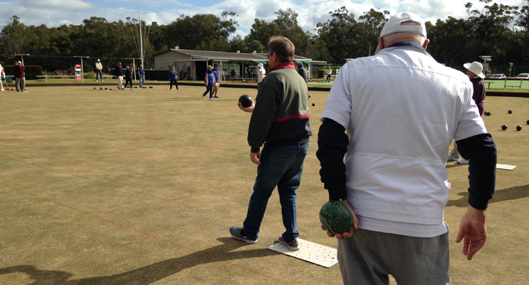 BOWLS DAY: Dunedoo Fundraiser at Tea Gardens Bowling Club.