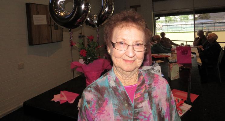 Joan Cheers celebrates 80 happy years.