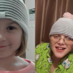 Warms heads in support of Brain Cancer research