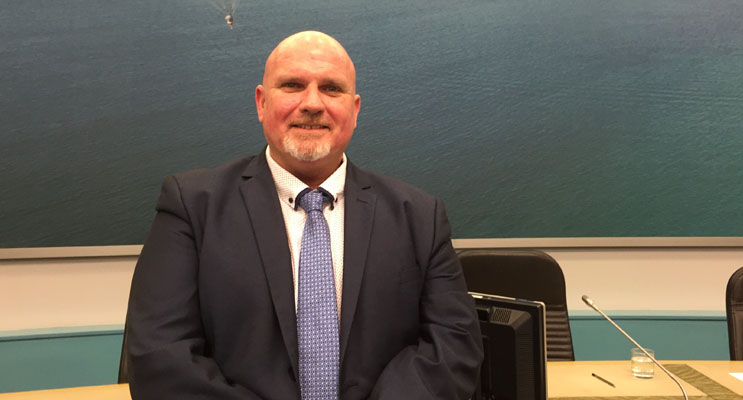 Deputy Mayor Cr Chris Doohan is pleased with the announcement of CBD WiFi Zones for Nelson Bay and Raymond Terrace.