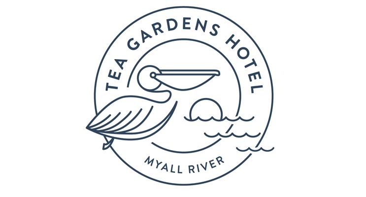 New Logo and Branding for Tea Gardens Hotel.