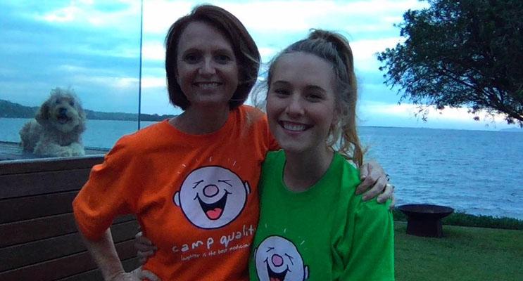 Jodi Cooper with daughter Grace.