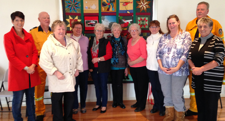 QUILT UNVEILED: Celebration Day with the Karuah River Craft Group.