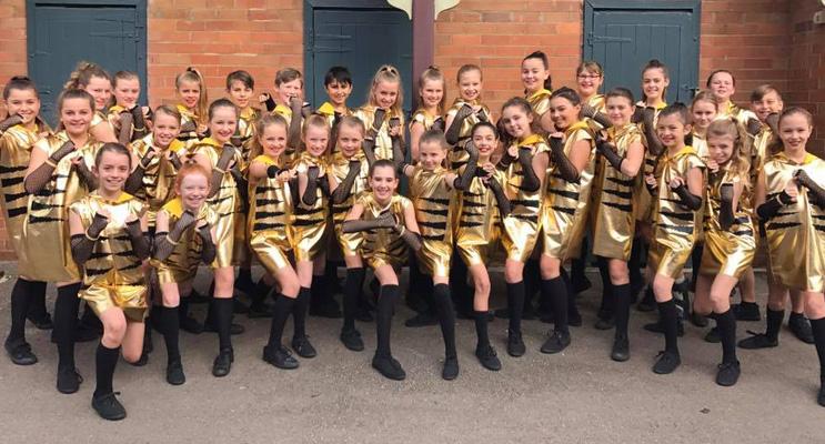 Medowie Public School dancers.