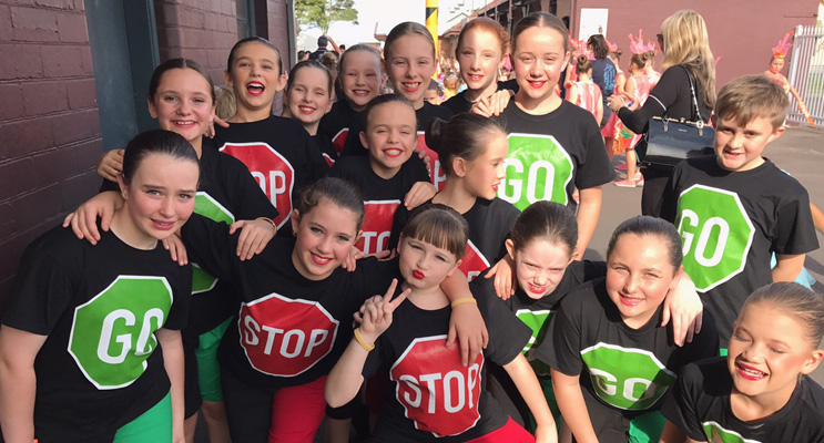 Wirreanda Public School dancers.