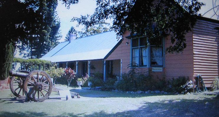 Historic Tahlee House.