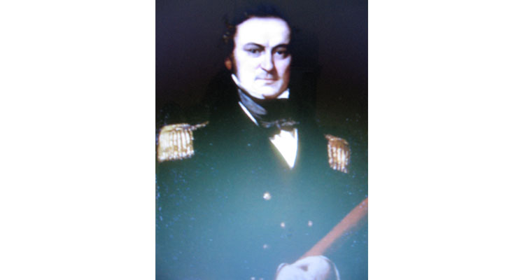 Sir Edward Parry.
