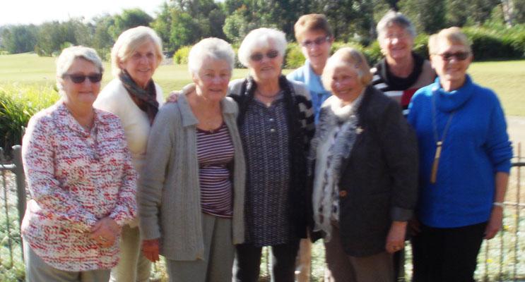 Sylvia, Sue, Doreen, Elsa, Barbara, Val, Sandra, and Dell.