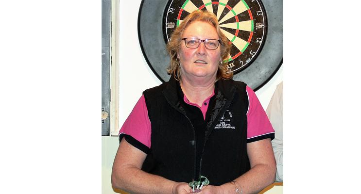 Ladies Highest Score Winner - Lyn Peirson.