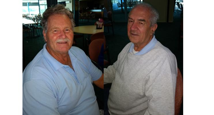 Greg Weeks - A Grade winner.(left) Arthur King - B Grade winner.(right)