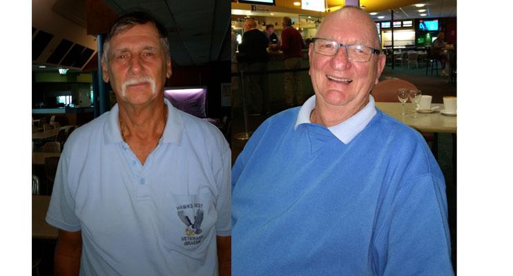 Graeme Bramley A Grade winner.(left) Rob Matthews B Grade winner. (right