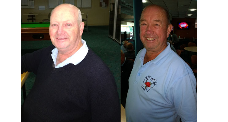 A Grade Winner Peter Howard. (left) B Grade Winner Des Pagett. (right)