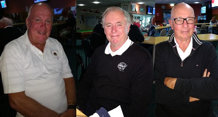 Bill Vandenberg.(left) Kevvy Williams.(center) Peter Campbell.(right)