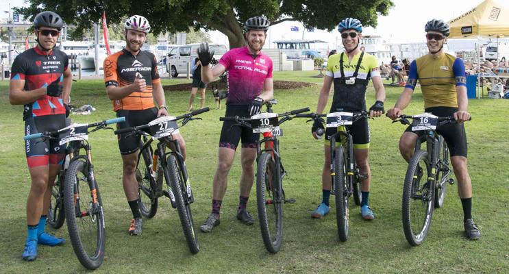 Brendan Johnston, Ryan Standish, Rohin Adams, Mark Tupalski and Jayden Ward. Photo by Square Shoe