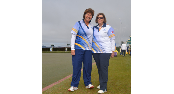 Winners Club Championship Pairs 2017 Robyn Beaumont and Kayelene Pearson.