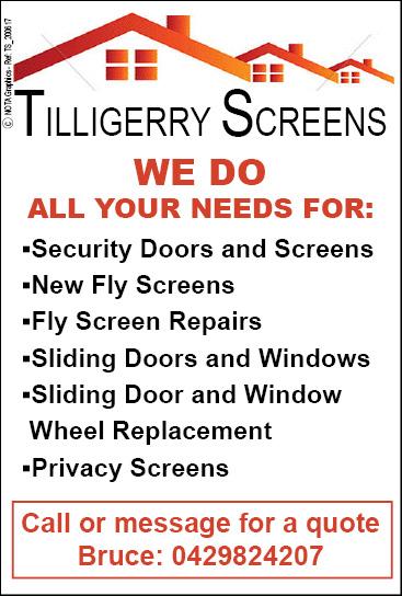 Tilligerry Screens