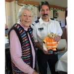 June Bennett fundraising for Fingal Bay Rural Fire Service Fingal Bay