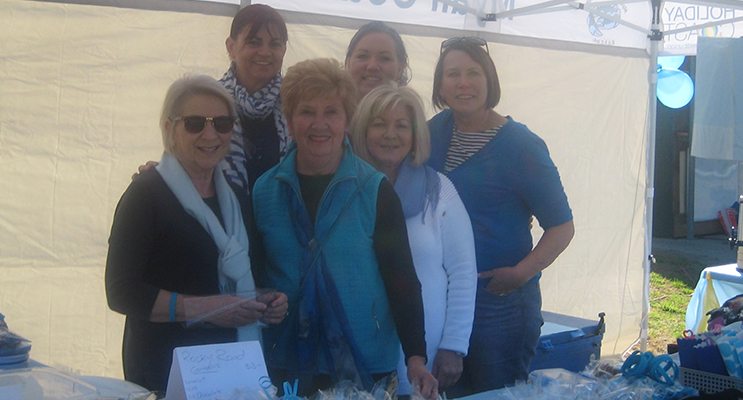 Alison John, Stephanie Rushby, Heather Davy. FRONT: Inga Reed, Karen Johnston, Kerrie Cameron.
