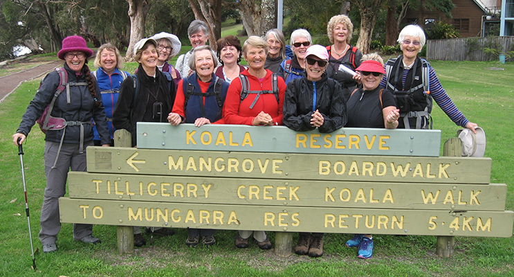 The Nelson Bay Walkers.