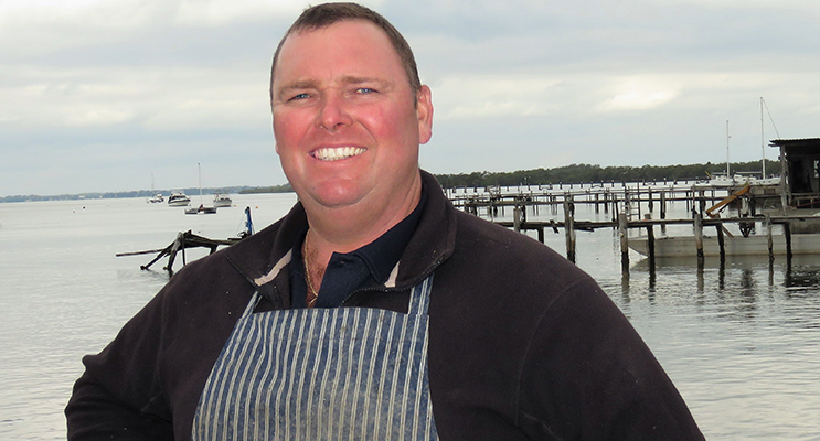 Dean Cole said there is a demand for local oysters in the Sydney markets.