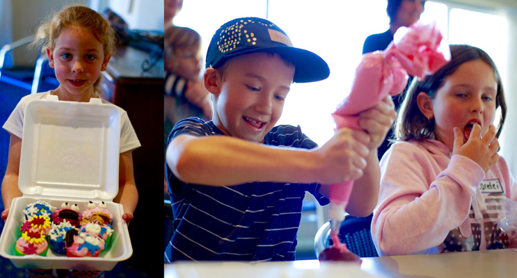 SCHOOL HOLIDAY FUN: Cake Decorating at the Tea Gardens Hotel.