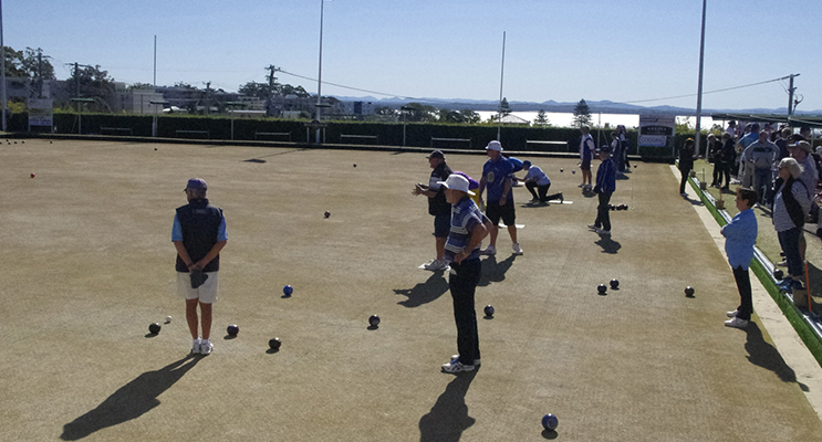 Bowlers at Day For Dylan Fundraiser. Photo by Marian Sampson