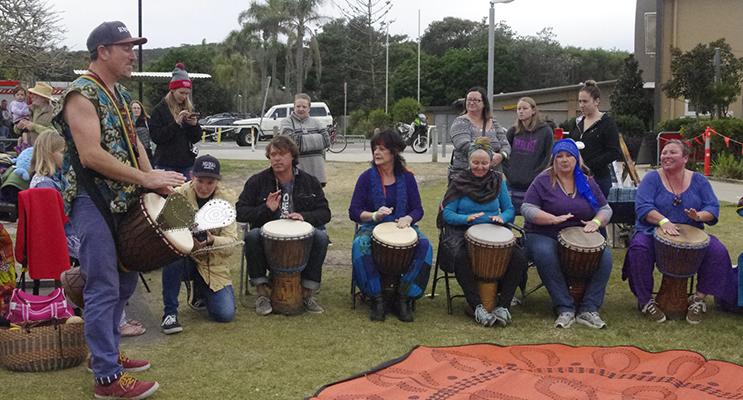 African Drum Circle.