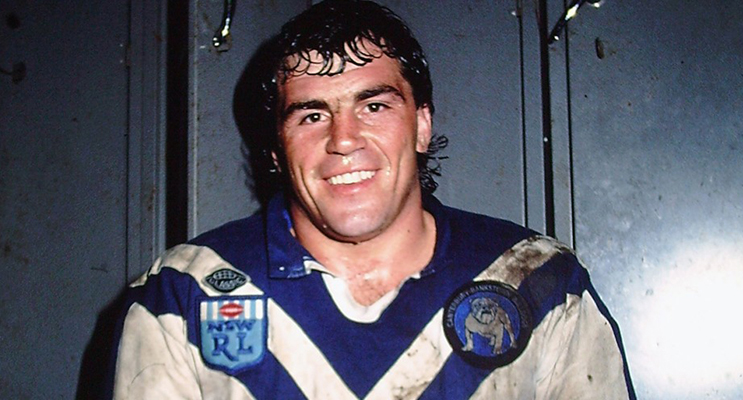 David (Cement) Gillespie will be a guest speaker at the Men of League fundraiser.